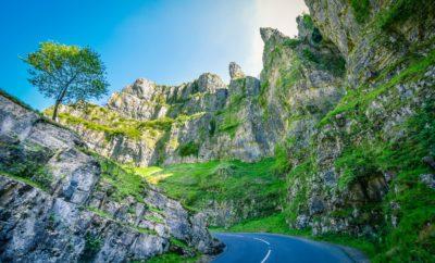A scenic road trip through Cheddar Gorge