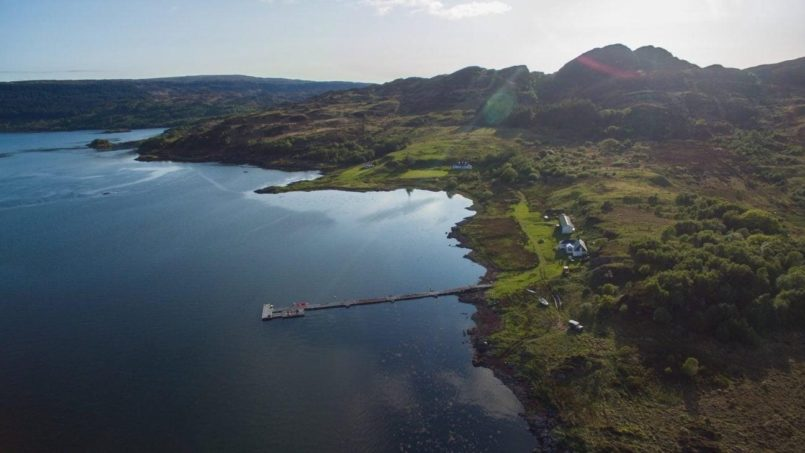 The peaceful Isle of Carna